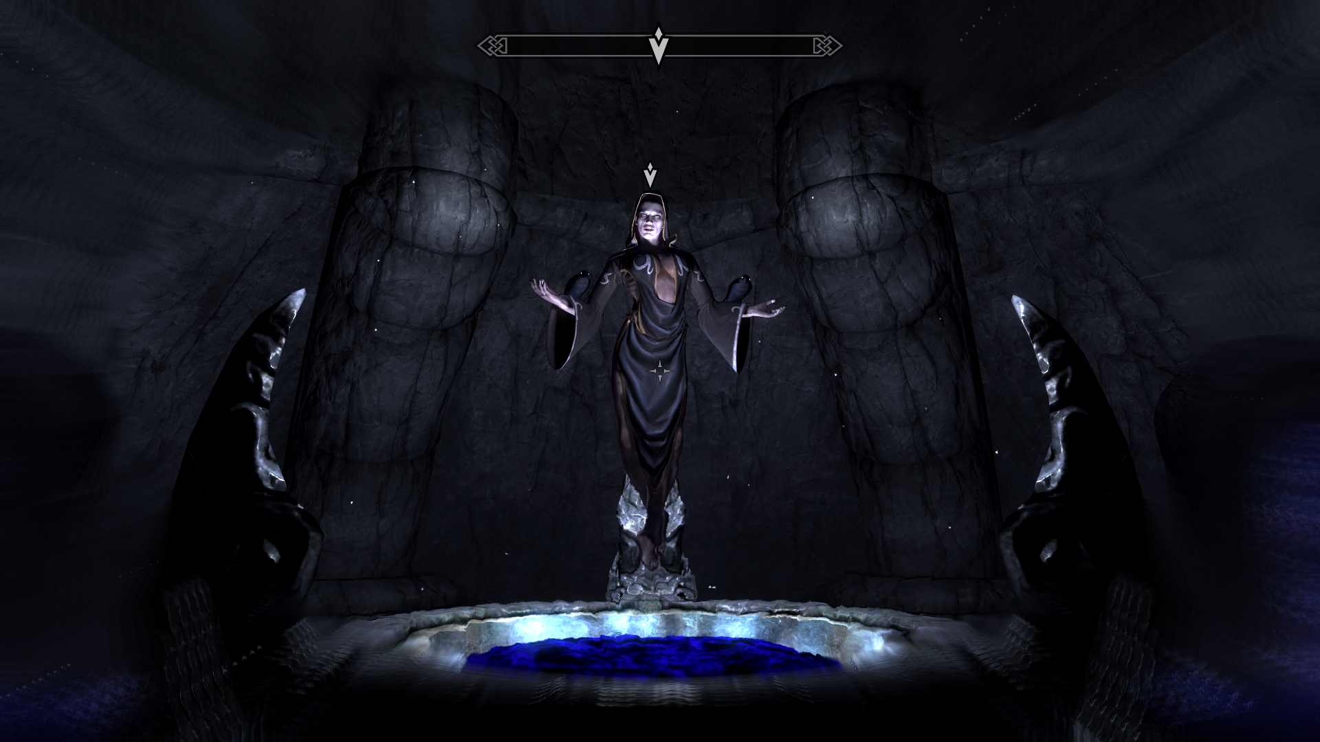 The Elder Scrolls V: Skyrim Windows I'm listening to Nocturnal, the Daedric Prince of Darkness