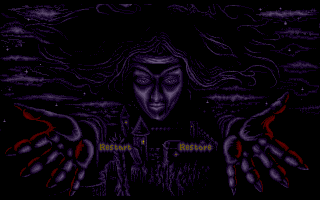 Lure of the Temptress Amiga Game Over