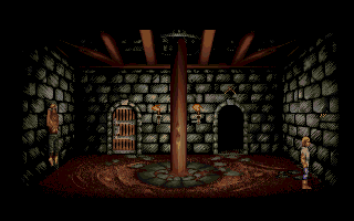 Lure of the Temptress Amiga In the dungeon