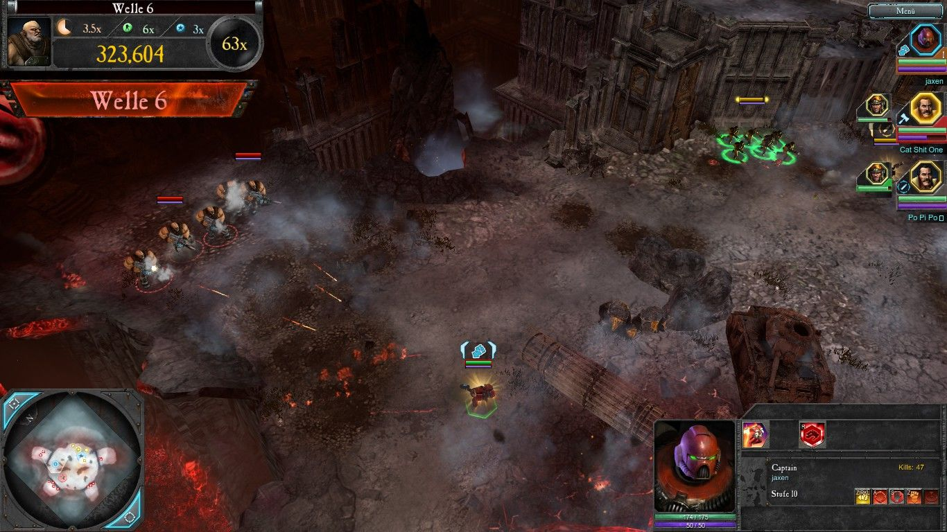 Warhammer 40,000: Dawn of War II - Retribution Windows The new arena for the Last Stand