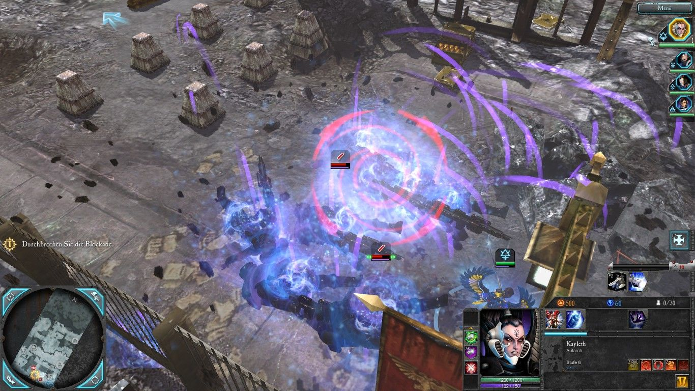 Warhammer 40,000: Dawn of War II - Retribution Windows The Eldar have some mean tricks. Anti-grav grenades for example...