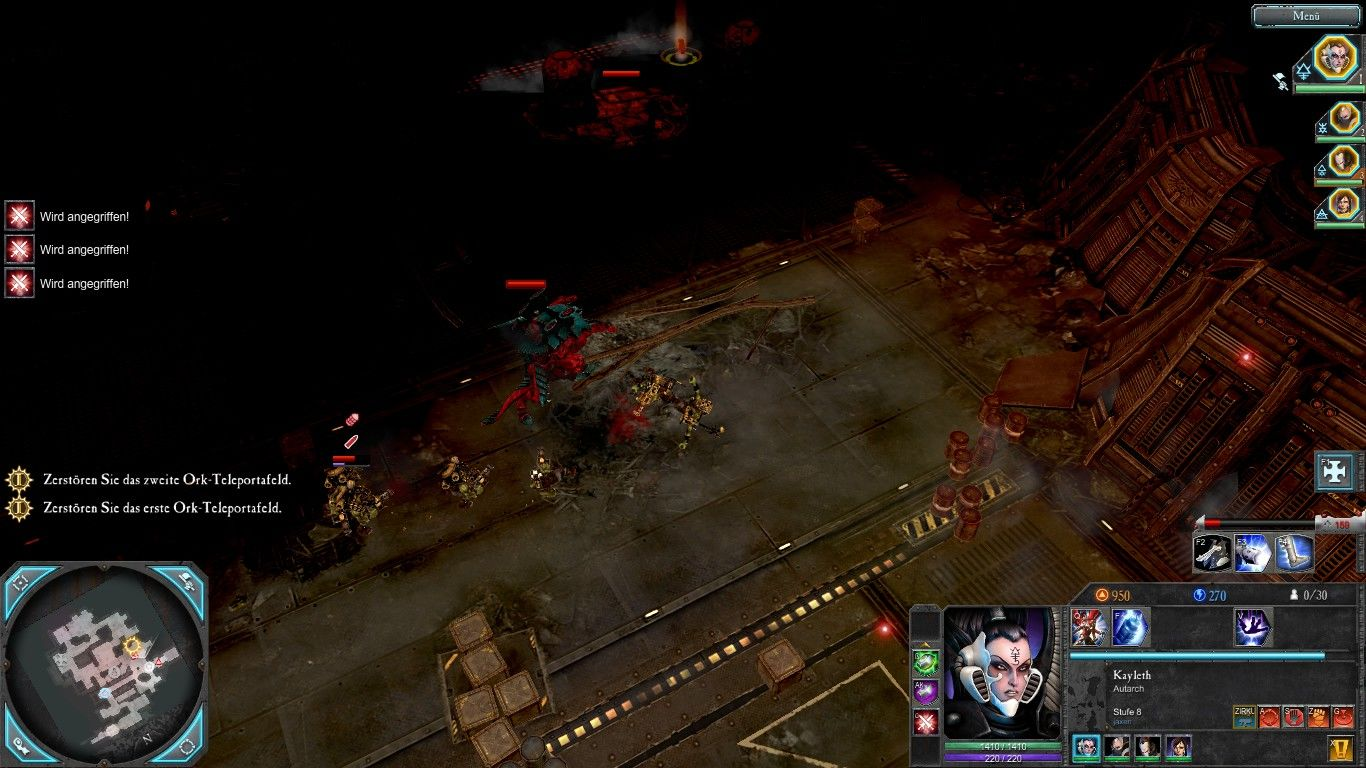 Warhammer 40,000: Dawn of War II - Retribution Windows A mad orc summons some Tyranids for assistance...what a mad idea.