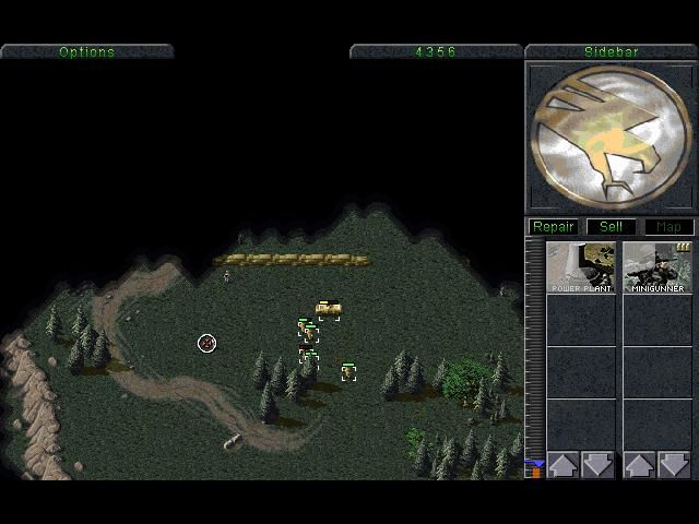 Command & Conquer (Special Gold Edition) Windows Some enemies to kill