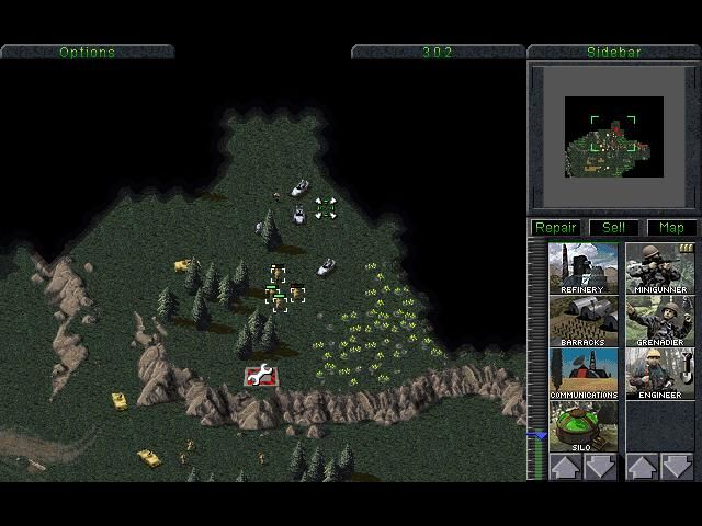 Command & Conquer (Special Gold Edition) Windows source of Tiberium