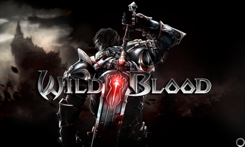 Wild Blood Android Title screen