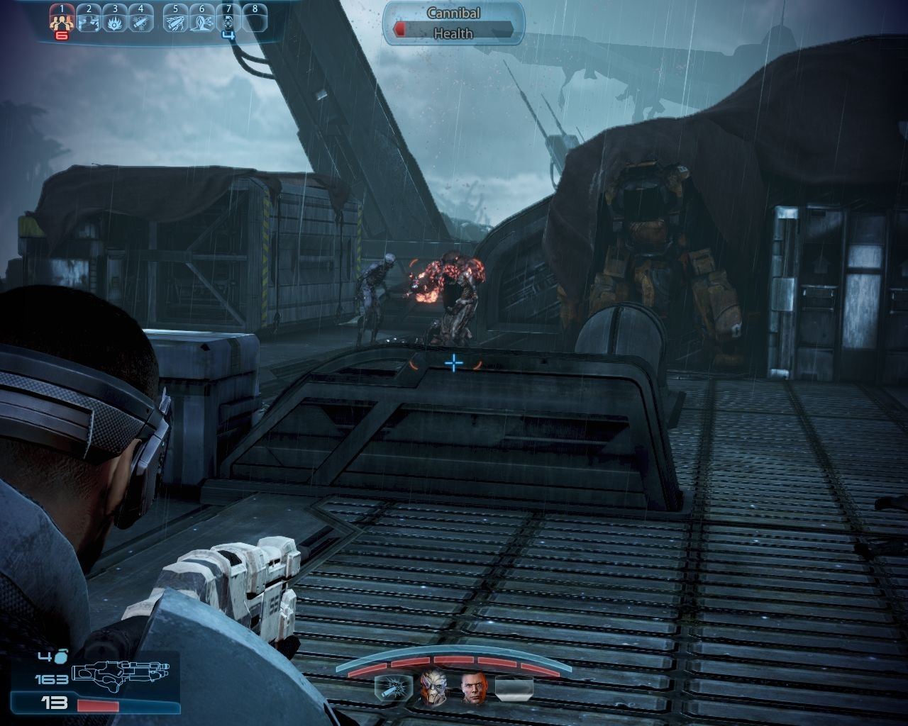 Mass Effect 3: Leviathan Windows Early enemies aren't too difficult.