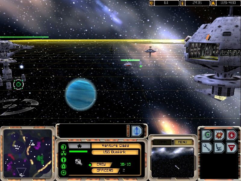 Star Trek: Armada Windows You can rotate and zoom the camera to create a feeling of a first-person perspective rather than top-down.