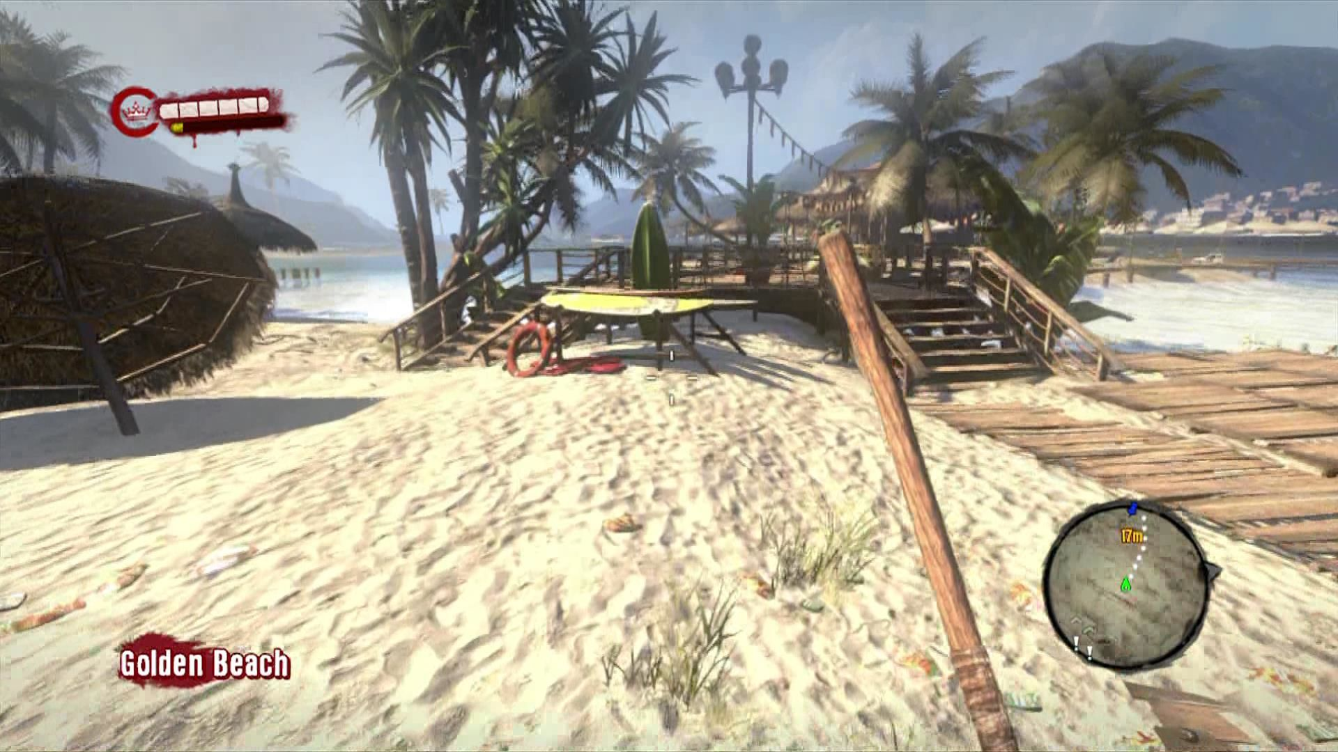 Dead Island Xbox 360 Welcome to Banoi, what a beautiful beach and resort.