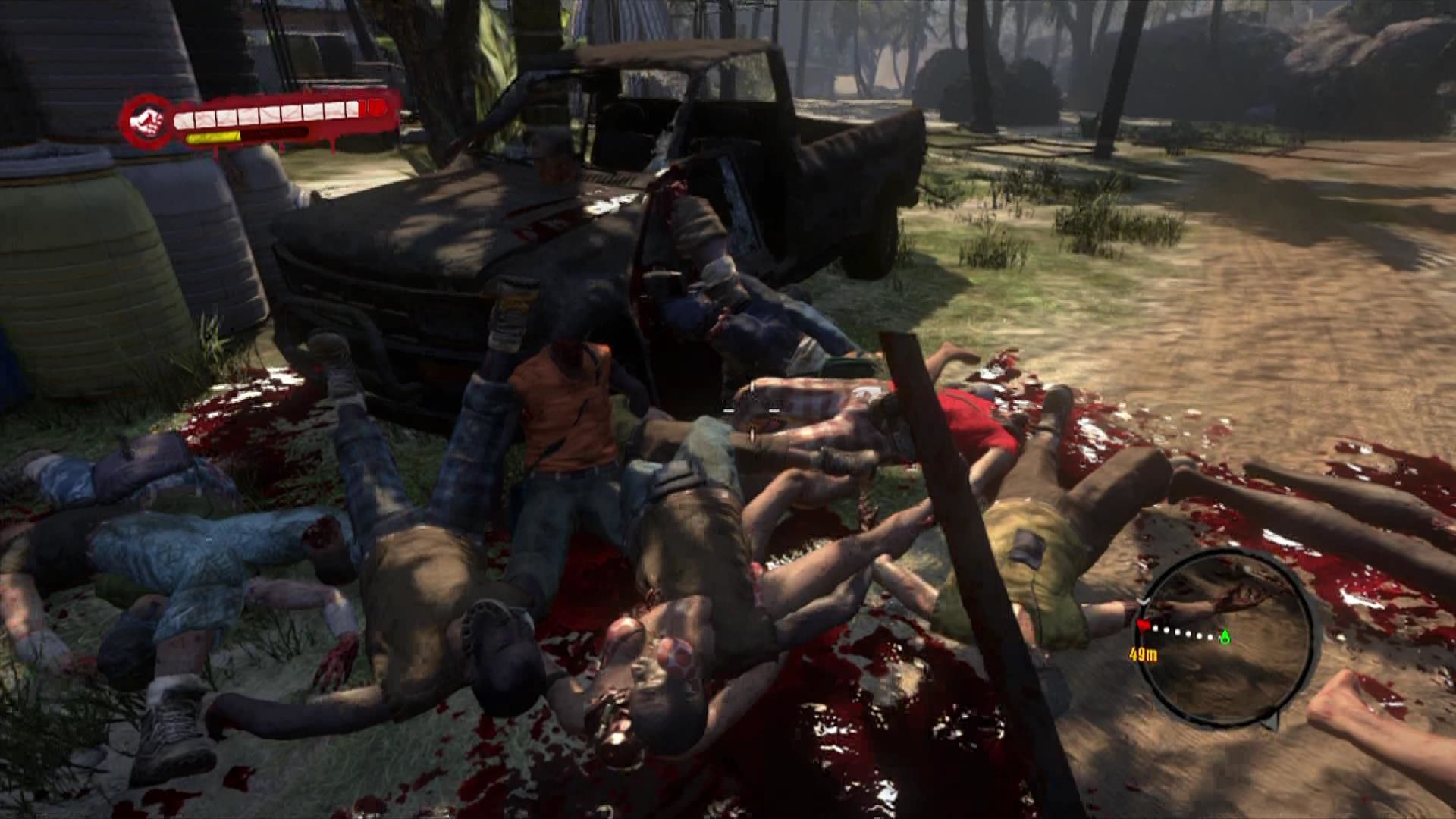 Dead Island Xbox 360 Get used to scenes like this, you will see it a lot.