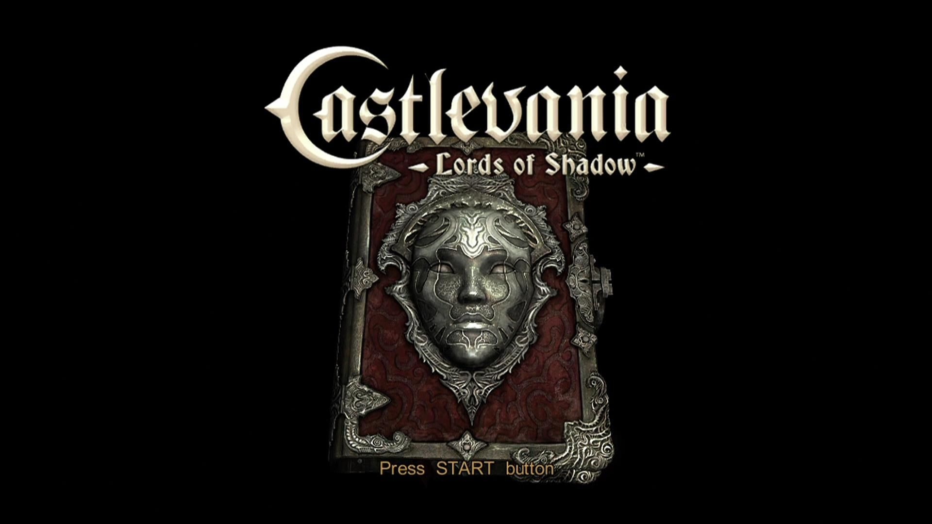 Castlevania: Lords of Shadow Xbox 360 Title screen