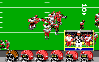 ABC Monday Night Football DOS Safety (EGA/Tandy)