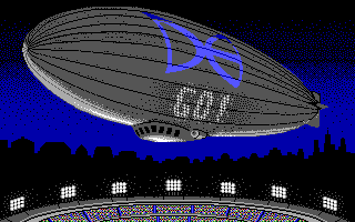 ABC Monday Night Football DOS Airship in Half Time (EGA/Tandy)