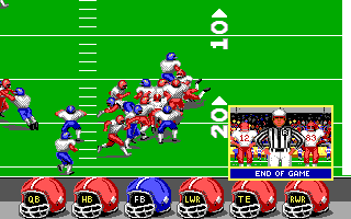 ABC Monday Night Football DOS End of Game (EGA/Tandy)
