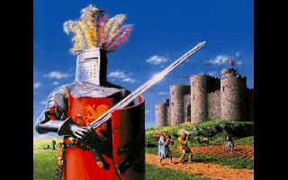 Lords of the Realm Amiga Intro: Get yo' medieval on! (256 Color AGA Version)