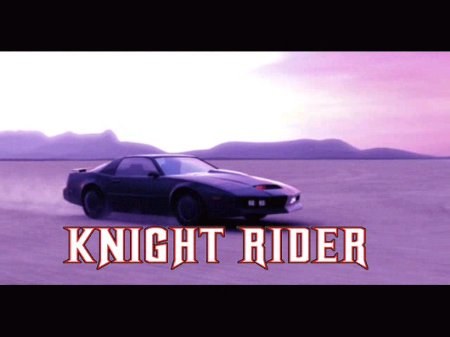 Knight Rider: The Game Windows Intro Movie - very similar to the TV show