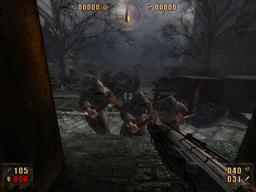 Painkiller: Resurrection Windows Time to shoot - enemies have a little trouble.