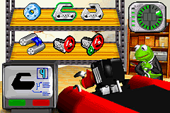 Spy Muppets: License to Croak Game Boy Advance Time to repair vehicle.