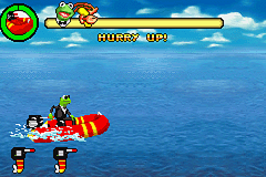 Spy Muppets: License to Croak Game Boy Advance Water ride