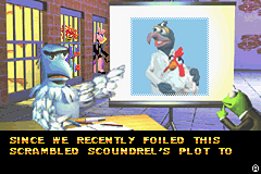 Spy Muppets: License to Croak Game Boy Advance Gonzo as mad doctor.