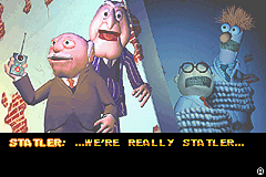 Spy Muppets: License to Croak Game Boy Advance Statler and Waldorf