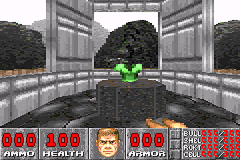 DOOM Game Boy Advance Old, good body armor.