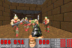 DOOM Game Boy Advance Too many enemies... i have a little trouble.