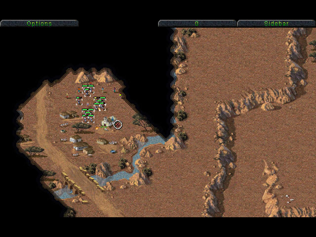 Command & Conquer (Special Gold Edition) Windows Nod destroy small village in africa
