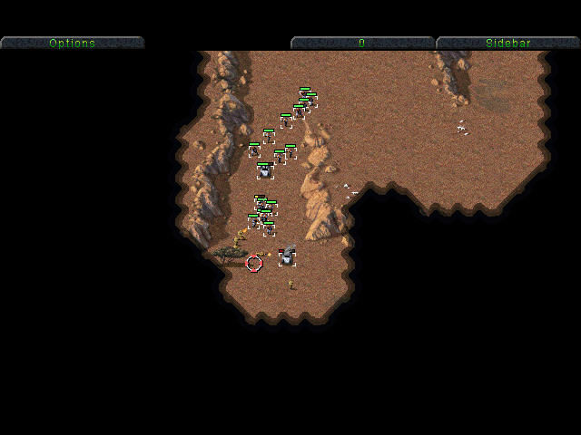 Command & Conquer (Special Gold Edition) Windows My last car is burning...