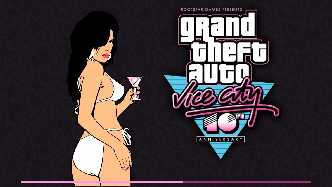 Grand Theft Auto: Vice City iPhone Loading screen
