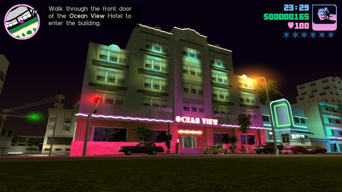 Grand Theft Auto: Vice City iPhone My first safe house where I can save my game