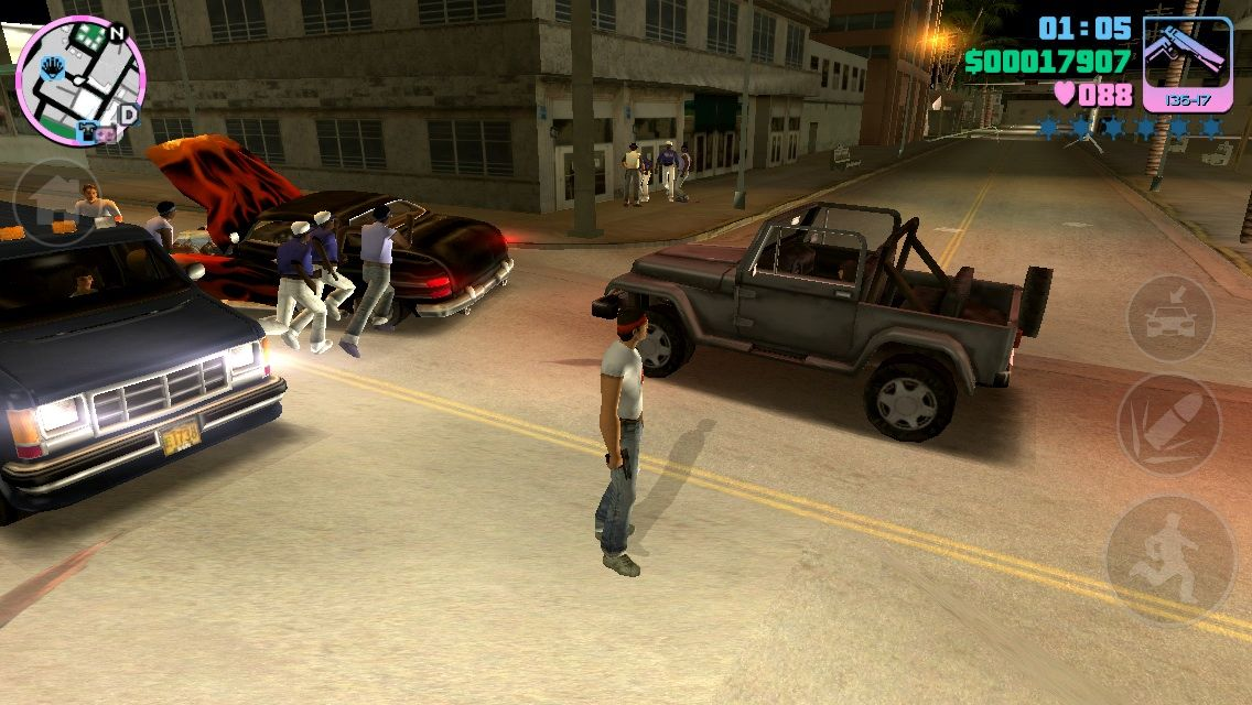 Grand Theft Auto: Vice City iPhone Gangs wreck Havoc in Vice City