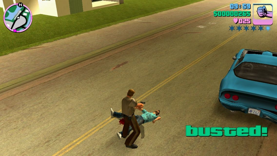 Grand Theft Auto: Vice City iPhone Police arrest