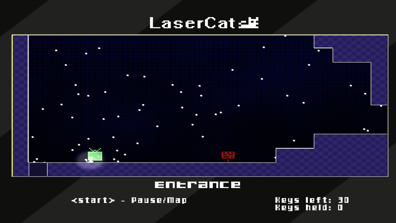 LaserCat Xbox 360 Arriving at Wizzord's castle.