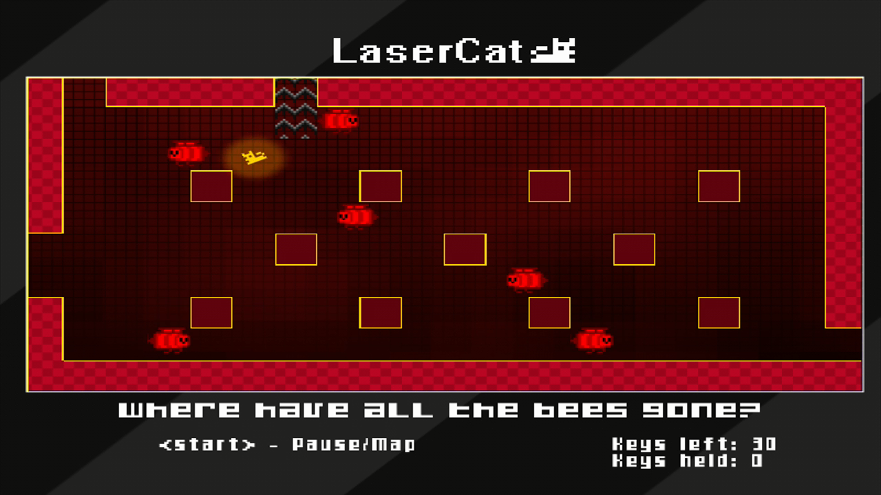 LaserCat Xbox 360 Run away from bees!