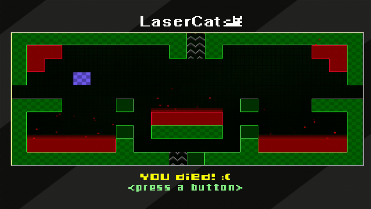 LaserCat Xbox 360 You died! :(