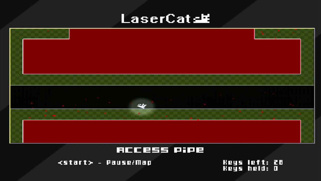 LaserCat Xbox 360 Some rooms are sparser than others...