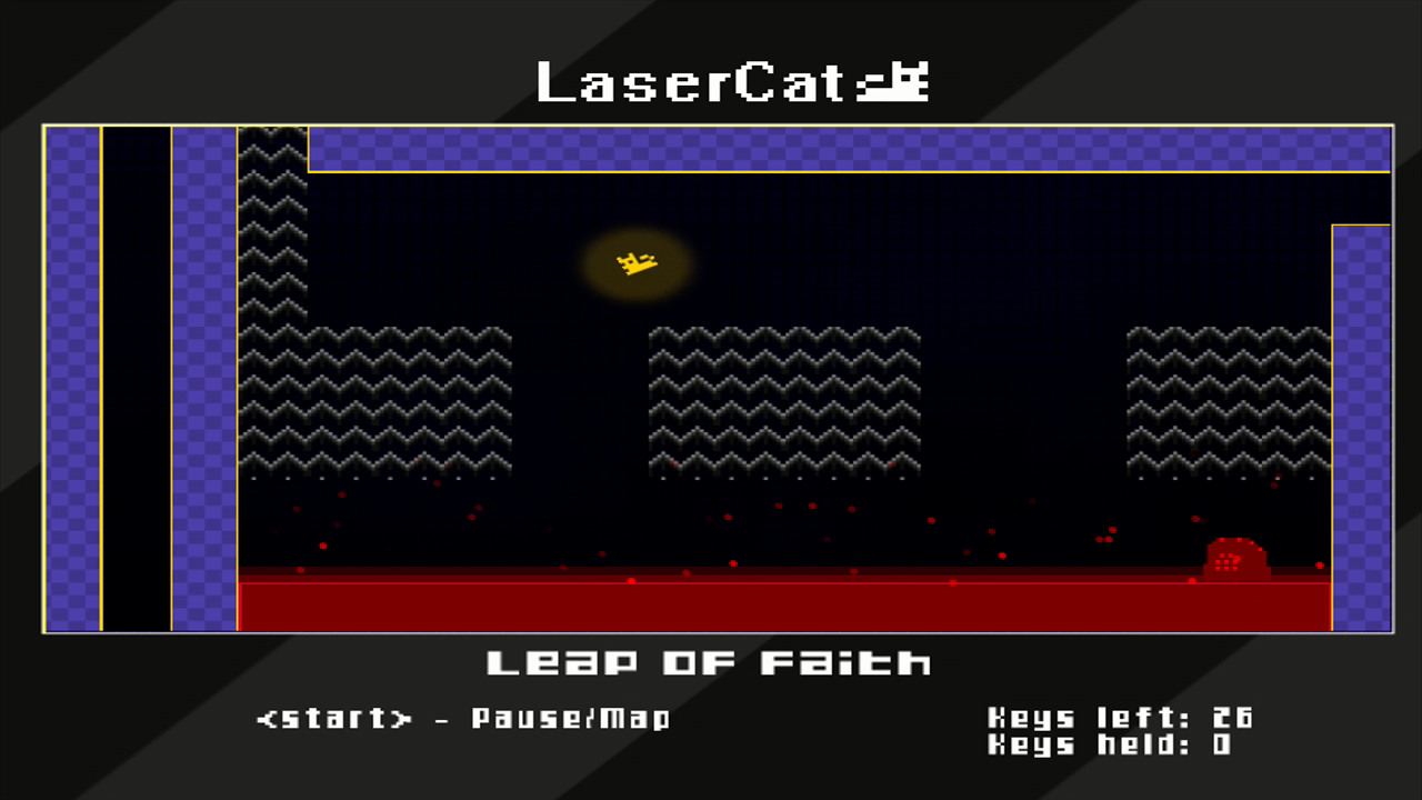 LaserCat Xbox 360 Catch a ride on the updraft!