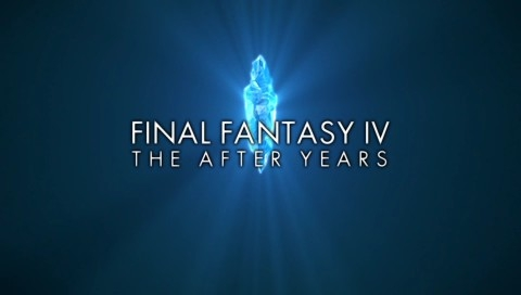 Final Fantasy IV: The Complete Collection PSP The After Years: Game title in the intro