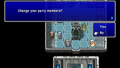 Final Fantasy IV: The Complete Collection PSP The After Years: In the final tale you can change your party almost anytime, choosing from a roster of over 20 unique characters