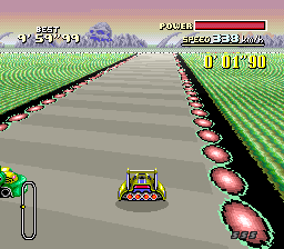 F-Zero SNES Training.