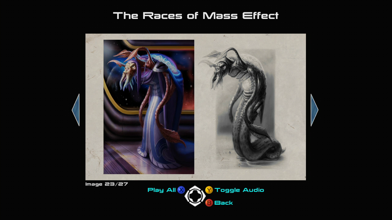 Mass Effect (Limited Collector's Edition) Xbox 360 Concept art of an