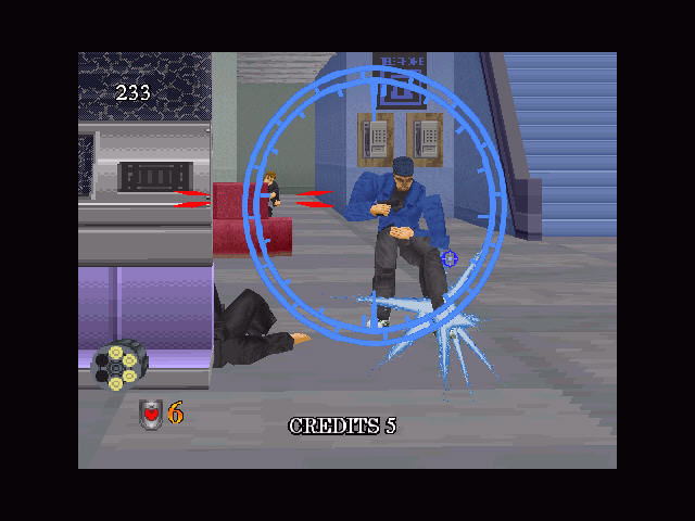 Virtua Cop 2 Windows My feet!