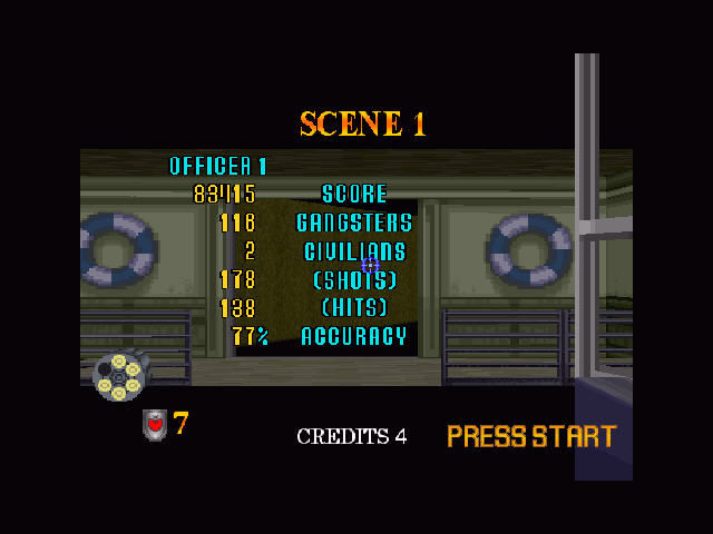 Virtua Cop 2 Windows Results.