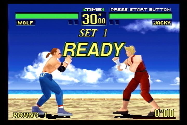 Virtua Fighter Remix SEGA Saturn Ready to Fight?