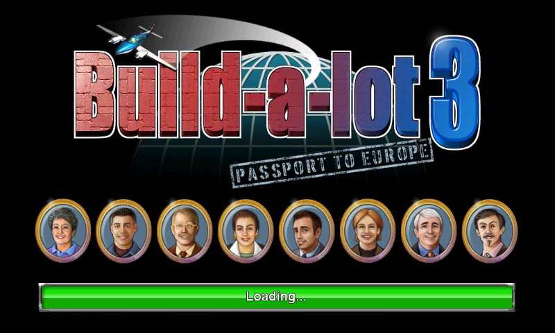 Build-a-lot 3: Passport to Europe Android Loading screen