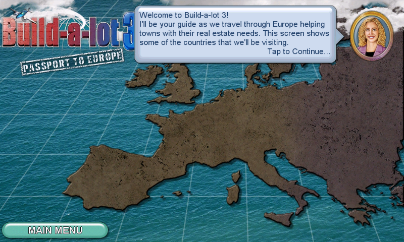 Build-a-lot 3: Passport to Europe Android Introduction