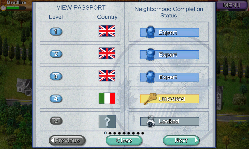 Build-a-lot 3: Passport to Europe Android Passport