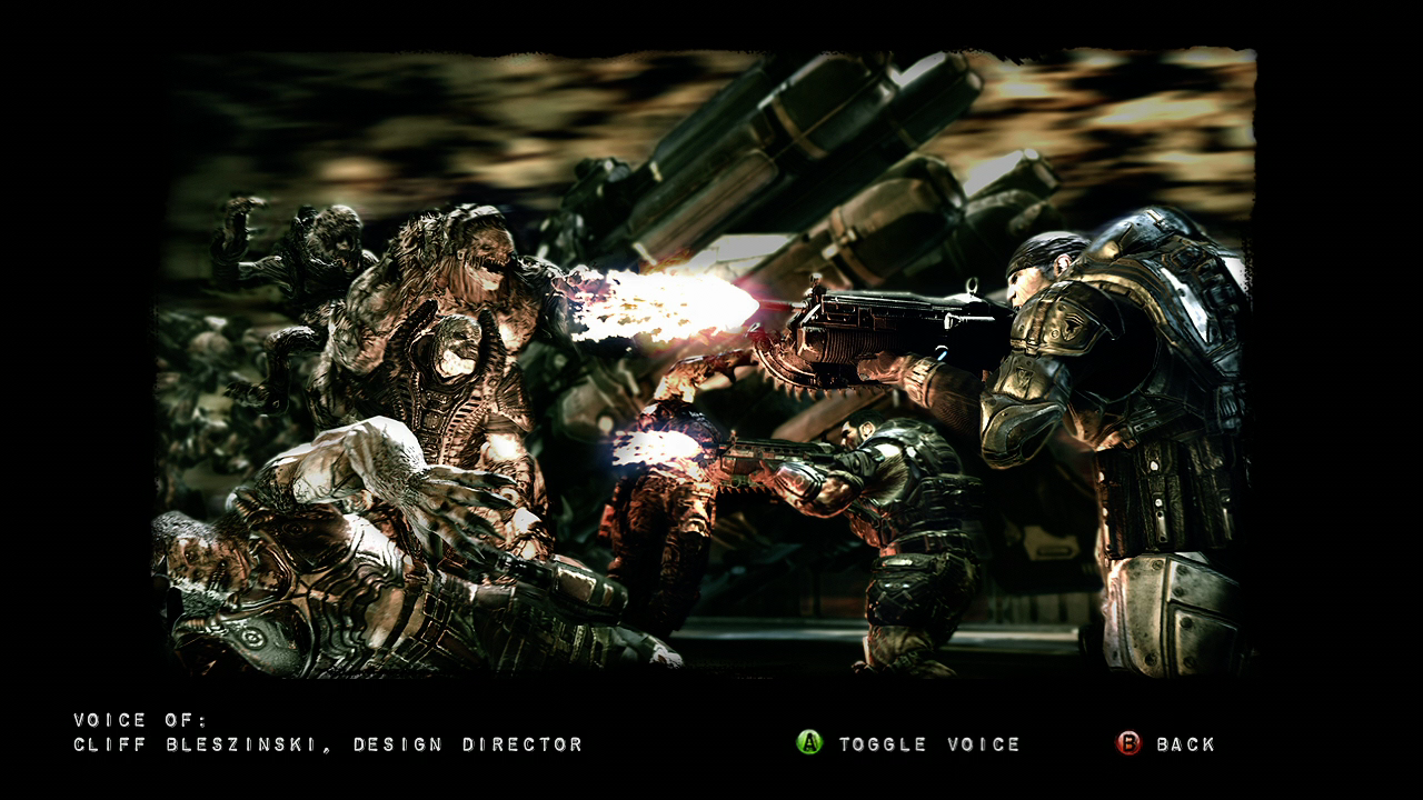 Gears of War 2 (Limited Edition) Xbox 360 Picture from the gallery commented by Cliff Bleszinski.