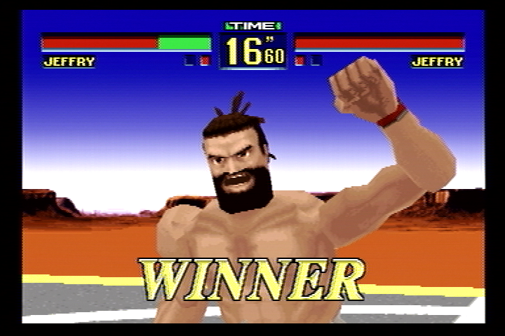 Virtua Fighter Remix SEGA Saturn I am victorious!