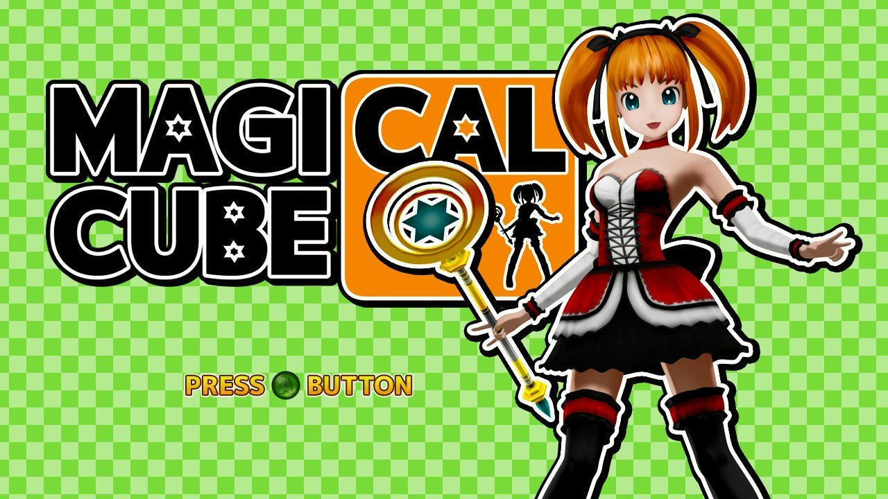 Magical Cube Xbox 360 Title screen.